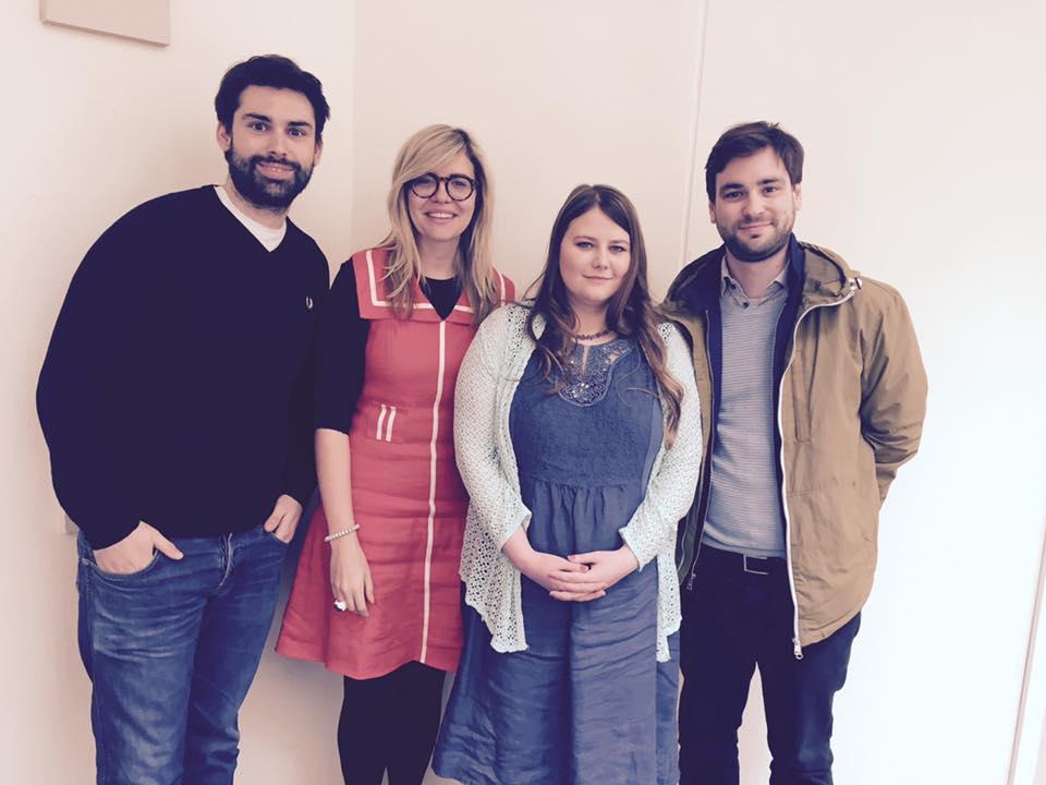 BBC Radio 5 Live mit Emma Barnett, Natascha Kampusch und dem Dachbuch Verlag