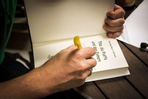 Buchpräsentation in der Bücherecke Bellearti